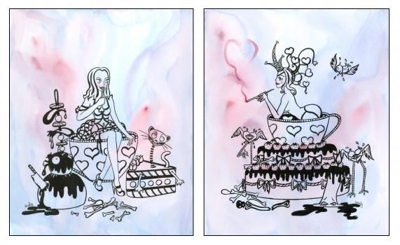 Alice's cupcake