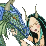 Dragoness' embrace